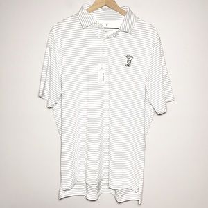 NWT Fairway & Greene Baker Stripe Golf Polo Shirt